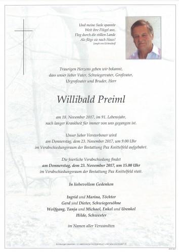 Willibald Preiml