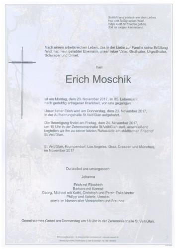 Erich Moschik