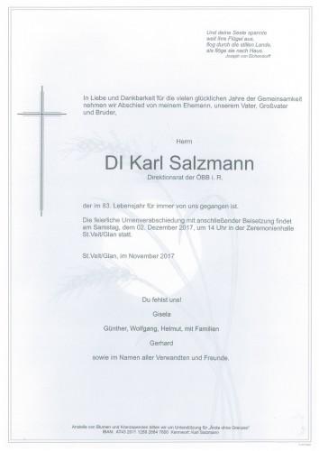 DI. Karl Salzmann