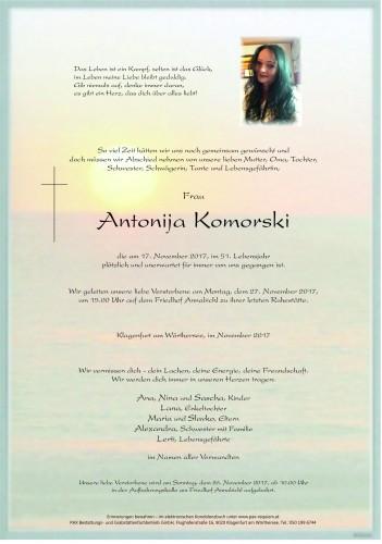 Antonija Komorski