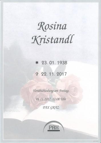 Rosina Kristandl