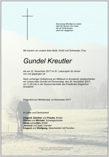 Gundel Kreutler
