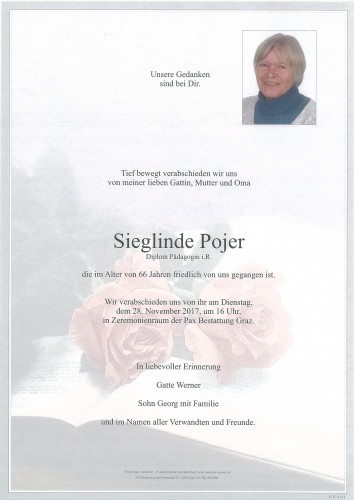 Sieglinde Pojer