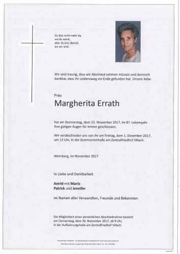 Margherita Errath