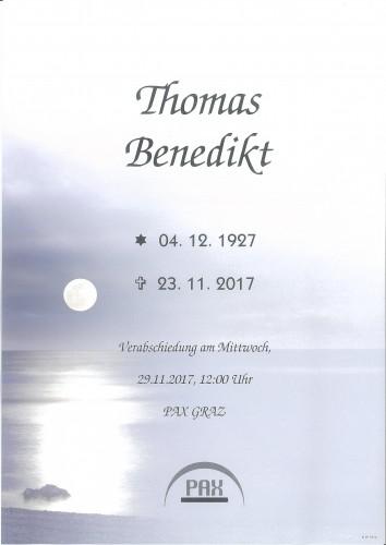 Thomas Benedikt