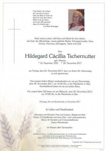 Hildegard Cäcillia Tschernutter