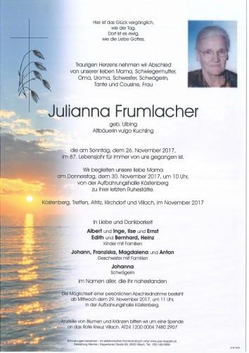 Julianna Frumlacher