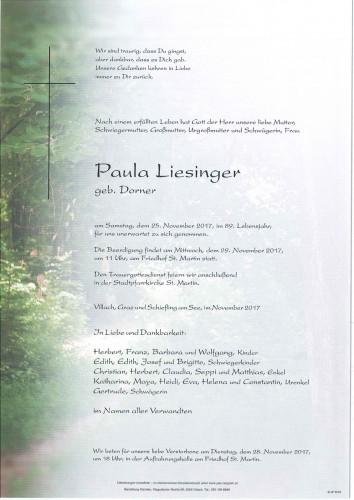 Paula Liesinger