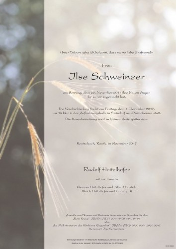 Ilse Schweinzer