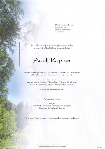 Adolf Kaplan