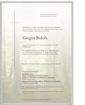 Gregor Rulofs