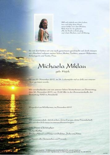 Michaela Miklau