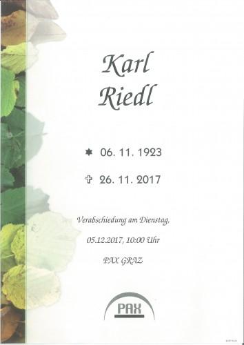 Karl Riedl