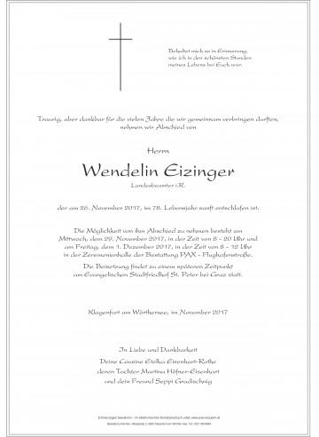 Wendelin Eizinger