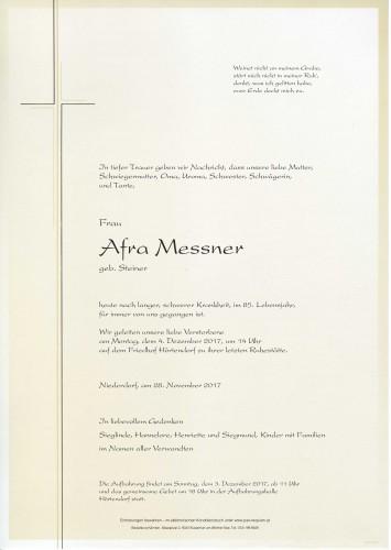 Afra Messner