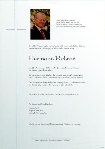 Hermann Rohrer