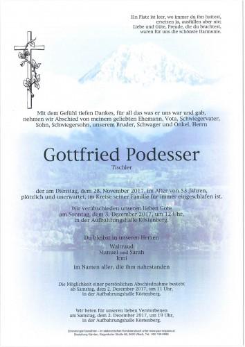 Gottfried Podesser