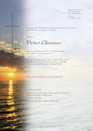 Peter Glanzer