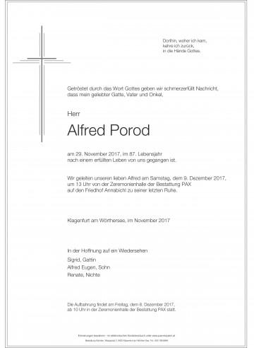 Alfred Porod