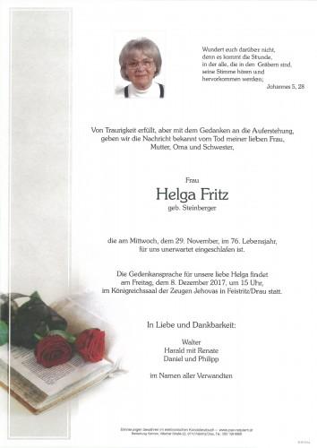 Helga Fritz