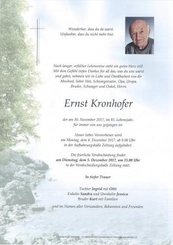 Ernst Kronhofer