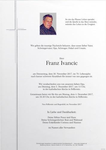 Franz Ivancic