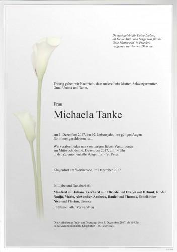 Michaela Tanke