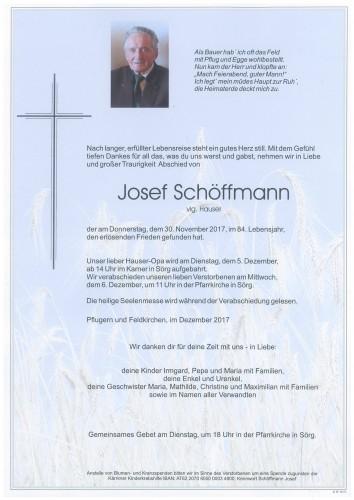 Josef Schöffmann