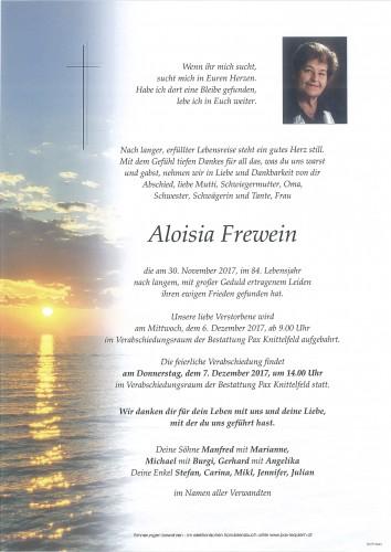 Aloisia Frewein