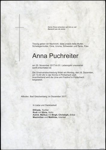 Anna Puchreiter